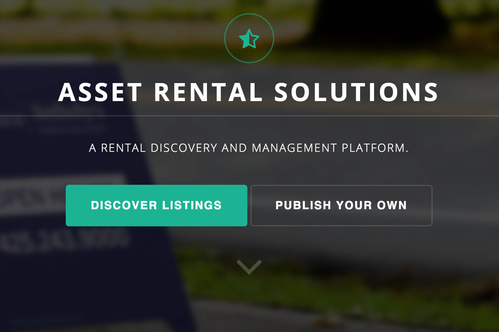 A Rental Discovery & Management Platform